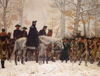 Jb Aviation The March To Valley Forge William Trego